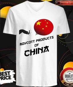 Beautiful Boycott Products Of China V-neck