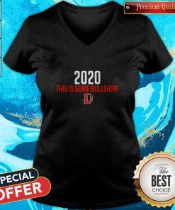 Cute Durham Bulls 2020 This Is Some Bullshirt V-neck