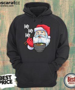 Nice Santa Ramen Noodles Shirt Christmas Japanese Noodle Hoodie-Design By Mascaratee.com
