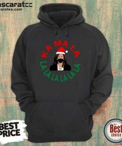Kamala Momala Kamala Harris Mask Christmas Hoodie - Design by Mascaratee.com