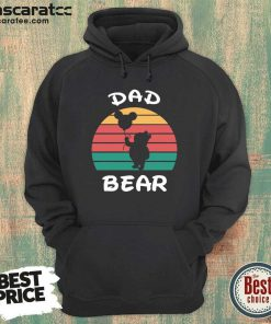 Dad Bear Disney Vintage Retro Hoodie - Design by Mascaratee.com